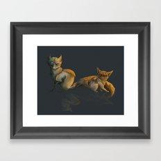 hoenn monster Framed Art Print
