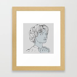 Is It Too Late? Framed Art Print