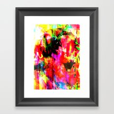 Blitz Framed Art Print