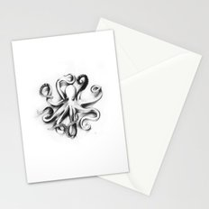 Flat Octopus Stationery Cards