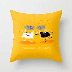Shake It Up! Throw Pillow