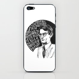 Atticus Finch iPhone Skin
