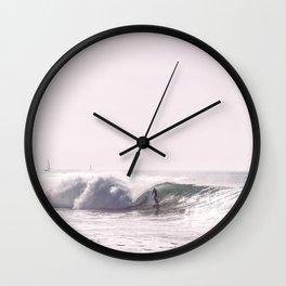 Surf Beach Wall Clock