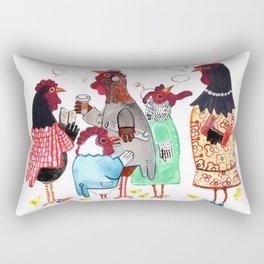 PTA Meeting Rectangular Pillow