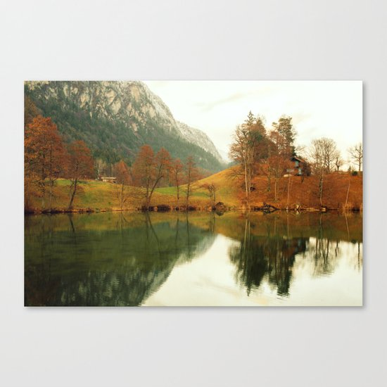 Castle of Tranquility Canvas Print