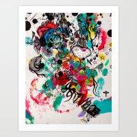 Ecuador Art Print
