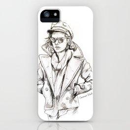Harry sailor sketch iPhone Case