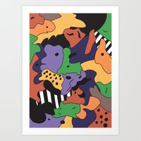 fresh prince Art Prints featuring Fresh Prince by Fresh Prints of Bel Air