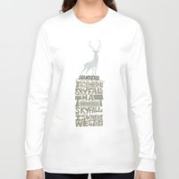 skyfall Long Sleeve T-shirts featuring Skyfall - James Bond 007 by Rebecca McGoran