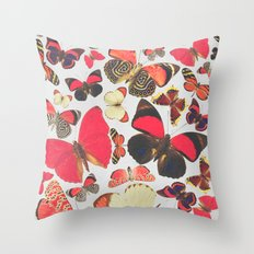 Come with me butterflies. Throw Pillow