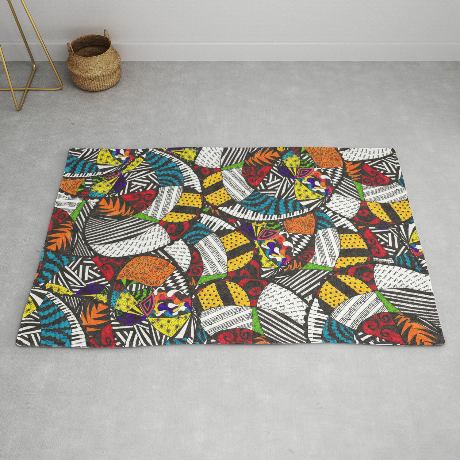 Ooo Jazzy Baby Rug By Amostpeculiar