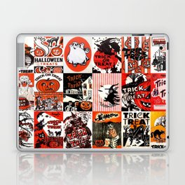 Halloween : Trick Or Treat, Smell My Feet, Gimmie Something Good To Eat. Laptop & iPad Skin