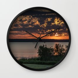 Morning Colors Wall Clock