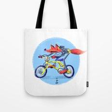 fox bike Tote Bag