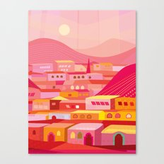 San Miguel Afternoon Canvas Print