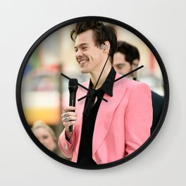 Harry Styles Wall Clock