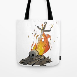 A Distinguished Fire Tote Bag
