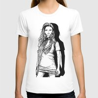 lady T-shirts featuring Lady  by KeithKarloff