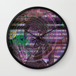 Mange Moi (and An Olde Face In Cyber Hell) [Recombinant Series] Wall Clock