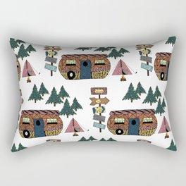 Camping we go Rectangular Pillow