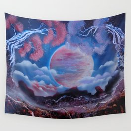 Full Moon - Maybe A Dream Wall Tapestry