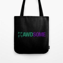 AWDSOME v6 HQvector Tote Bag