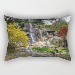 Waterfall at Maymont Park Rectangular Pillow