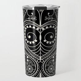 Leaf Art Travel Mug
