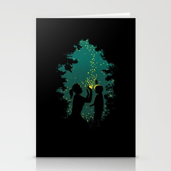 Fireflies Stationery Cards