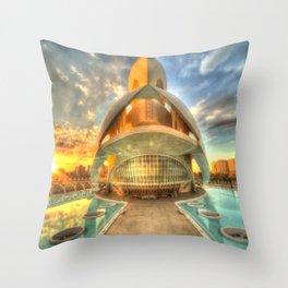 Opera Sunset Throw Pillow