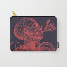 Octopussy Man under the Sea Abstract Concept Art Carry-All Pouch