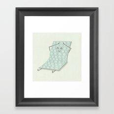 Popping Bubbles Framed Art Print