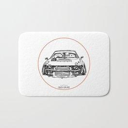 Crazy Car Art 0024 Bath Mat