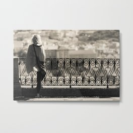 City Girl Metal Print