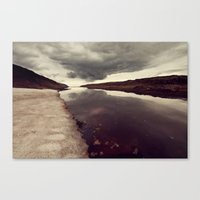 iceland Canvas Prints featuring Iceland by Adam-Hindmarch