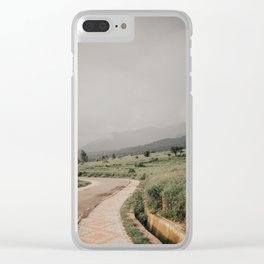 Find The Way Clear iPhone Case