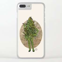Mama Nugs Clear iPhone Case