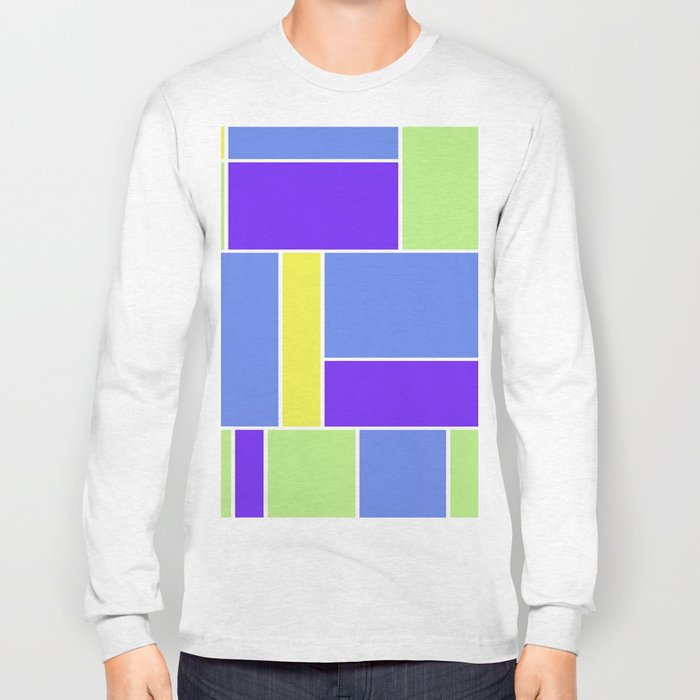 Abstract #461 Long Sleeve T-shirt
