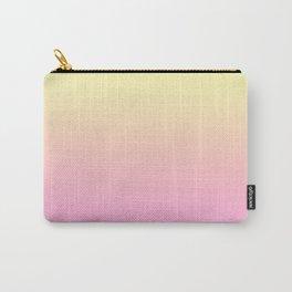 PEACH DREAMS - Minimal Plain Soft Mood Color Blend Prints Carry-All Pouch