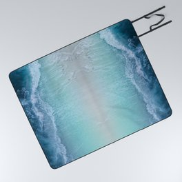 Turquoise Sea Picnic Blanket