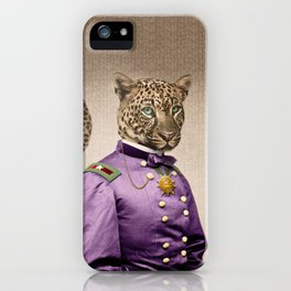 Grand Viceroy Leopold Leopard iPhone Case