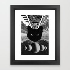 witch 2 Framed Art Print