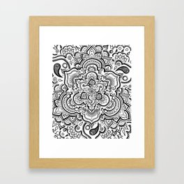 BLACK & WHITE 2 Framed Art Print