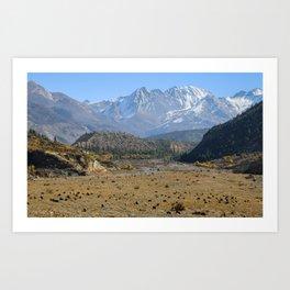 Himalayan Landscape Art Print