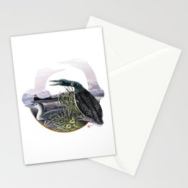 DW-019 Song Of The Loons Stationery Cards