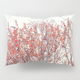 Red Tree Pillow Sham