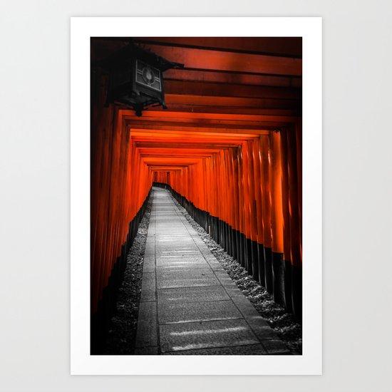 Fushimi Inari Shrine Art Print