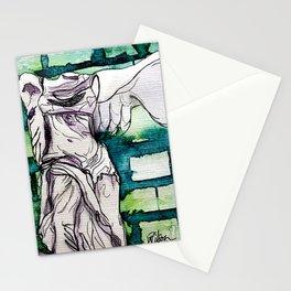 Winged Victory of Samothrace Stationery Cards