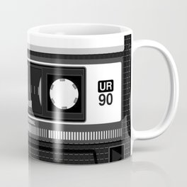 Compact cassette | 90's | 90's music | Cassette tape | Punk Coffee Mug
