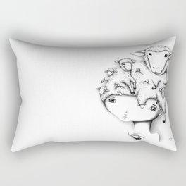 Merino Mutation Rectangular Pillow